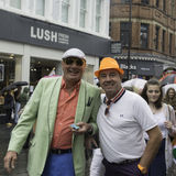 Liverpool Pride - Love is no Crime Stock Photos