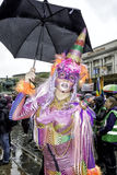 Liverpool Pride - Love is no Crime Royalty Free Stock Photography