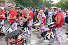 Liverpool pride parade. Visiting Liverpool last weekend I came across with the Liverpool pride parade - ago 4th 2012 Royalty Free Stock Photo