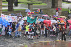 Liverpool pride parade Royalty Free Stock Image
