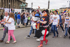 Liverpool Pride 2017 Royalty Free Stock Images