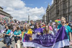 Liverpool Pride 2018 Stock Images