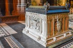 Liverpool, R-U - 3 avril 2015 - vue intérieure de cathédrale de Liverpool Image stock