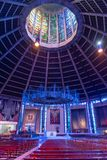 LIVERPOOL, R-U, LE 26 MAI 2019 : Une vue documentant l'int?rieur de la cath?drale m?tropolitaine du Christ le roi, ? Liverpool images stock