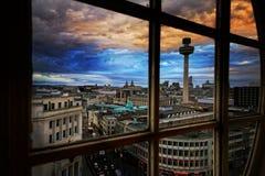 Liverpool Regno Unito immagine stock libera da diritti