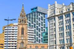 Liverpool, Reino Unido - 3 de abril de 2015 - nossa senhora e Saint Nicholas Church de Inglaterra Fotos de Stock Royalty Free