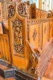 Liverpool, Reino Unido - 3 de abril de 2015 - vista interior da catedral de Liverpool Fotografia de Stock Royalty Free