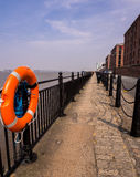 Liverpool River Mersey Promenade Stock Photos