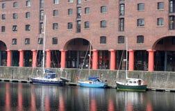 Liverpool s'accouple (le dock d'Albert) Images libres de droits