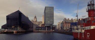 Liverpool skeppsdocka royaltyfri foto