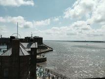 Liverpool skeppsdockor Arkivfoton