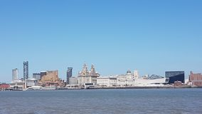 Liverpool skyline stock photos