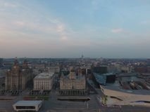 Liverpool Skyline stock images