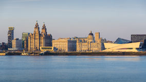 Liverpool Skyline Royalty Free Stock Photography