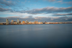 Liverpool Skyline Royalty Free Stock Photos