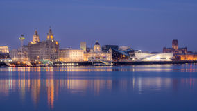 Liverpool Skyline Royalty Free Stock Image