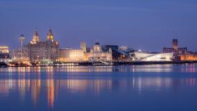 Liverpool Skyline Royalty Free Stock Image