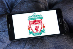 Liverpool soccer club logo Stock Image