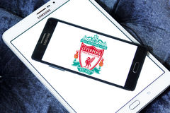 Liverpool soccer club logo Royalty Free Stock Photography