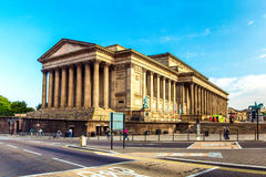 Liverpool St George's Hall stock images