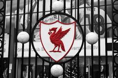 Liverpool Stadium Royalty Free Stock Images