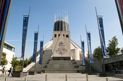 Liverpool-Stadtkathedrale, Liverpool, Großbritannien stockfotografie