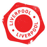 Liverpool stamp rubber grunge royalty free illustration