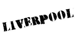 Liverpool stamp rubber grunge Royalty Free Stock Photo