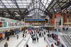 Liverpool station London Stock Image