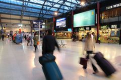 Liverpool Station royalty free stock images