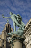 Liverpool Statues Stock Image