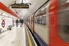 Liverpool Streer tube platform Stock Images