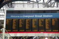 Liverpool street Stock Photos