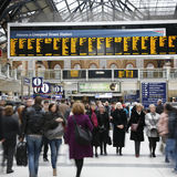 Liverpool Street Station Stock Image