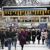 Liverpool Street Station Stock Image