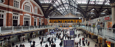 Liverpool Street Station Stock Photos
