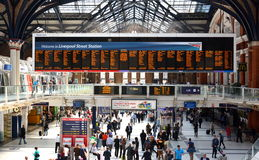 Liverpool Street Station, London Royalty Free Stock Photo