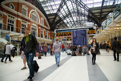 Liverpool street station Stock Images