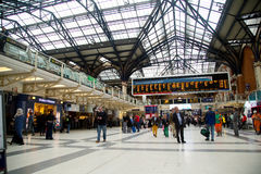 Liverpool street station Stock Photography
