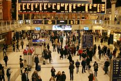Liverpool Street Station Royalty Free Stock Images