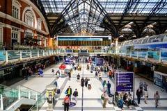 Liverpool Street Station Stock Photo