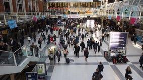 Liverpool Street Station London stock video