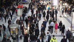 Liverpool Street Station London stock footage