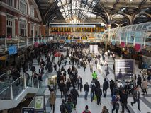 Liverpool Street station in London Royalty Free Stock Photography