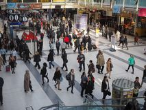 Liverpool Street station in London Stock Photos
