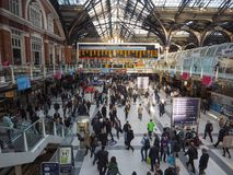 Liverpool Street station in London Royalty Free Stock Photos