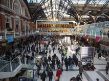 Liverpool Street station in London Royalty Free Stock Images
