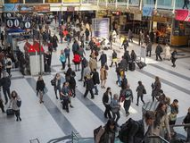 Liverpool Street station in London Stock Image