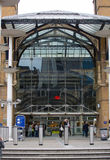 Liverpool street train station with lots of people. London Stock Image