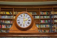 LIVERPOOL 16TH JANUARY 2016. Picton Reading Room inside Liverpoo Stock Photos